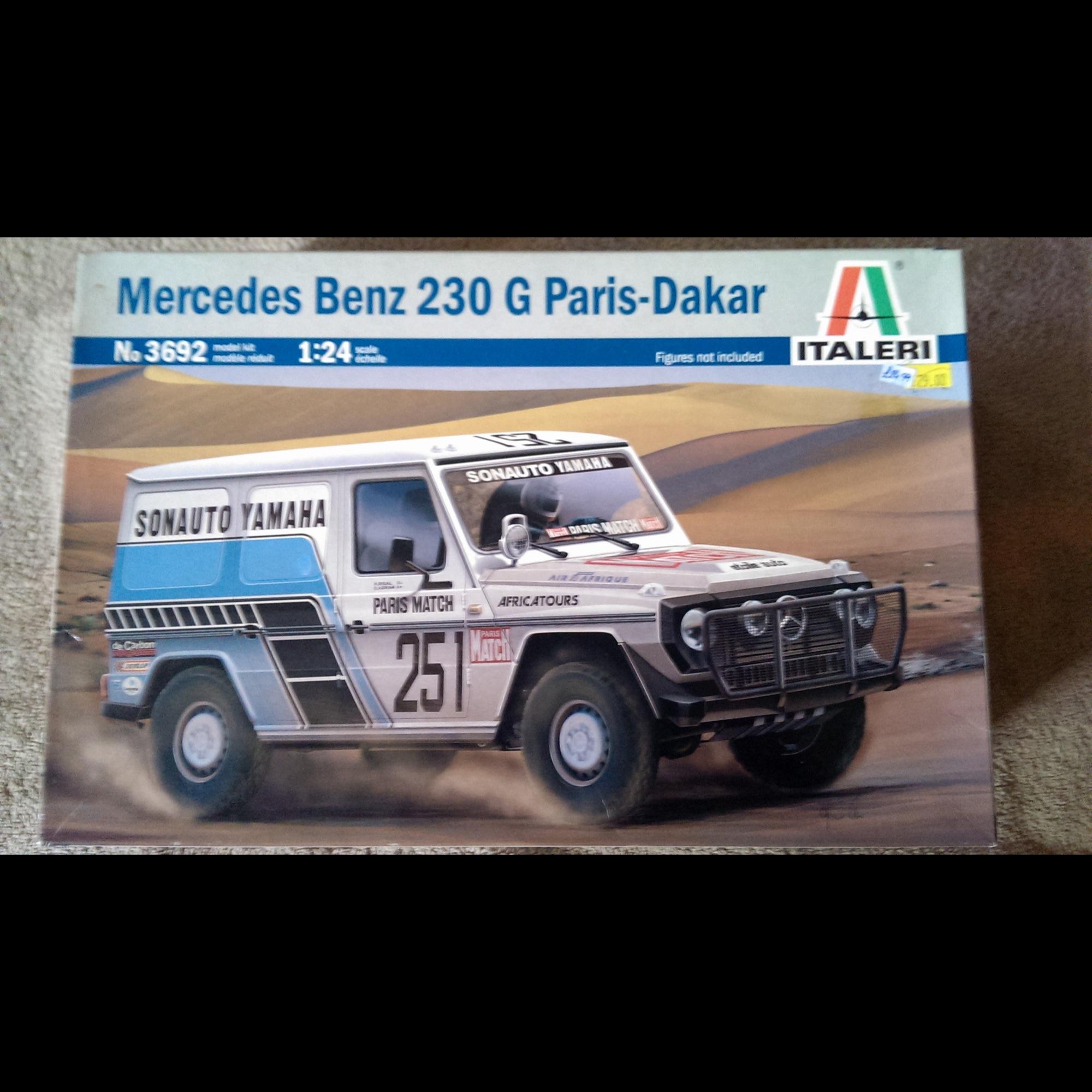 Mercedes Benz 230G Paris Dakar