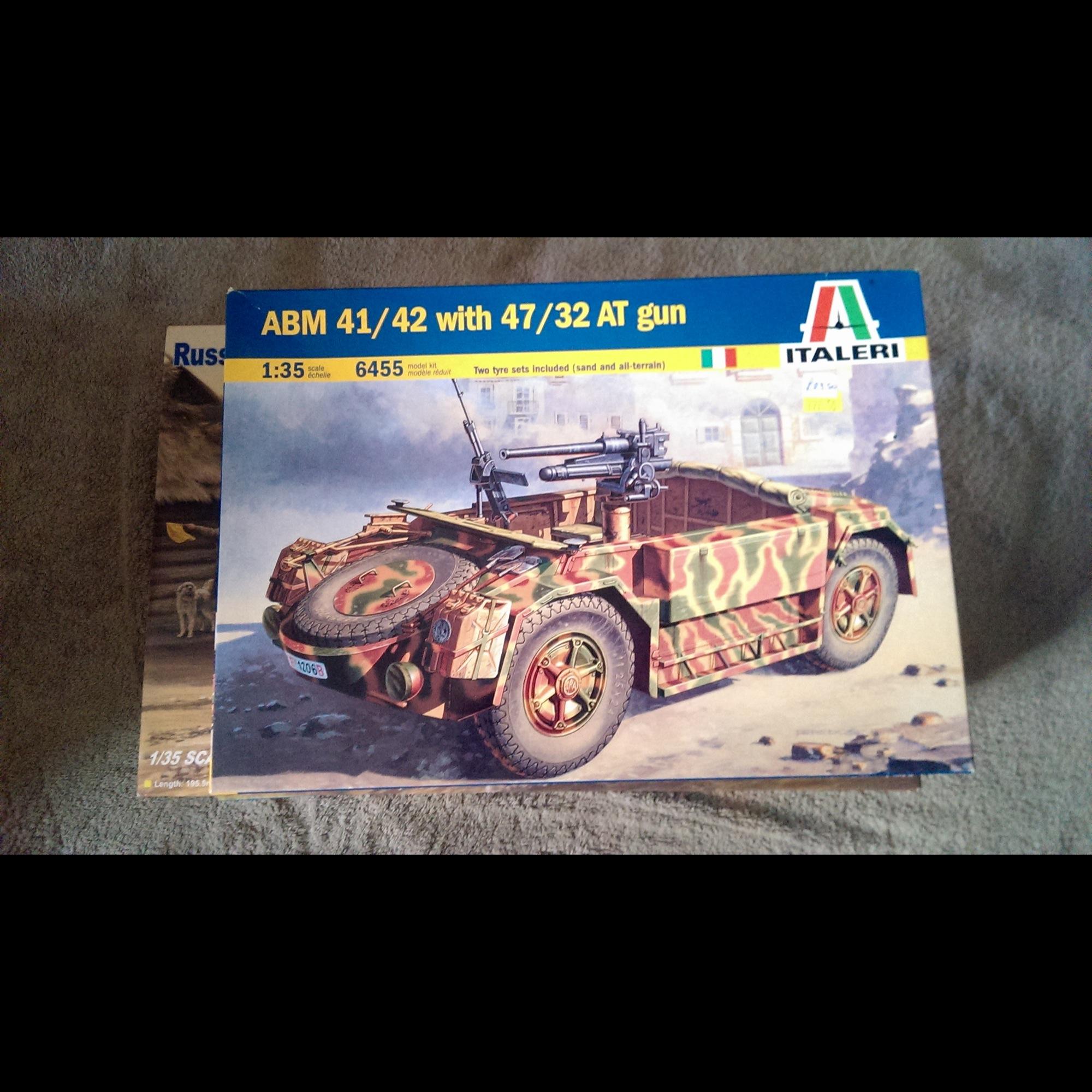 ABM 41/42 With 47/32 AT Gun