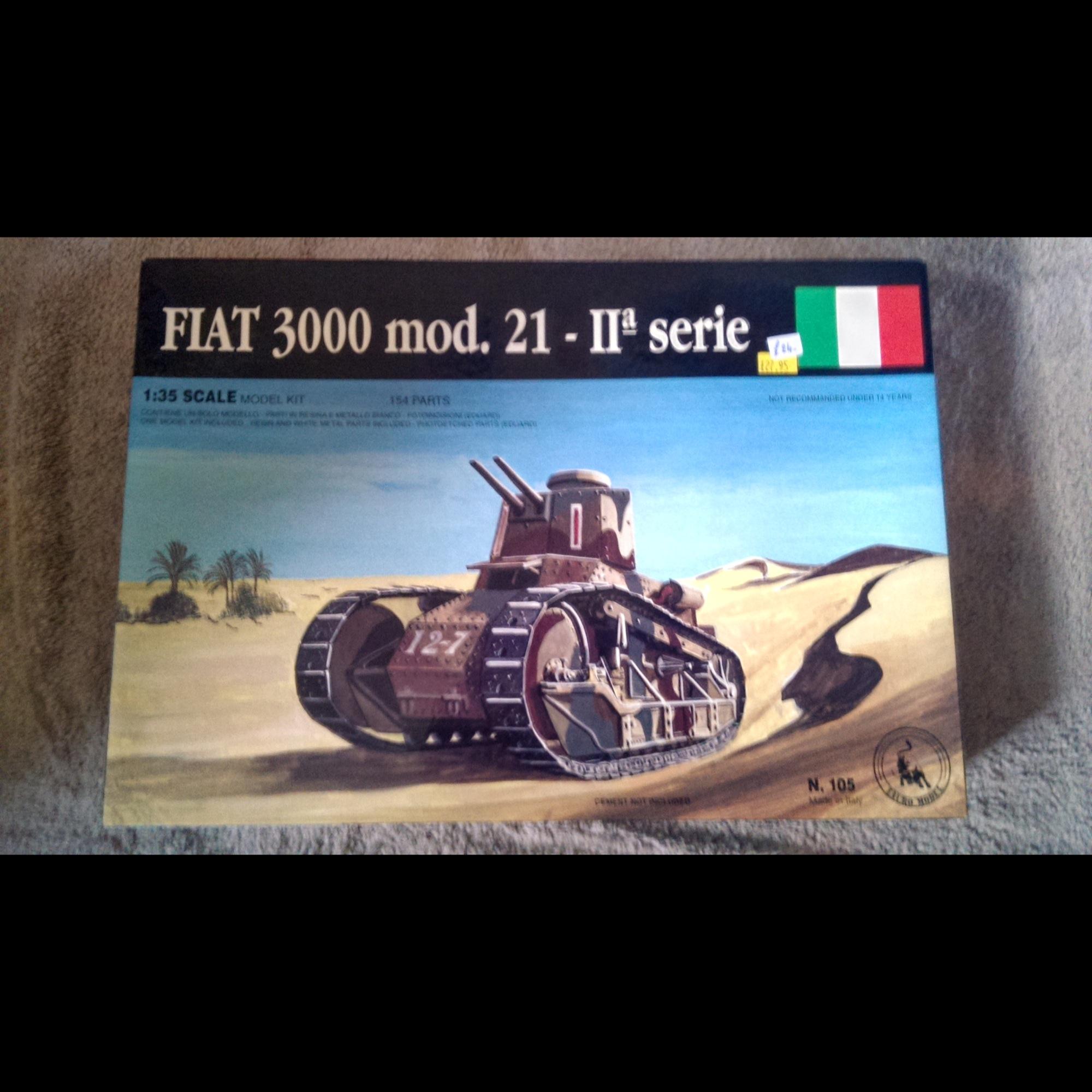 Fiat 3000 mod. 21 IIa Serie