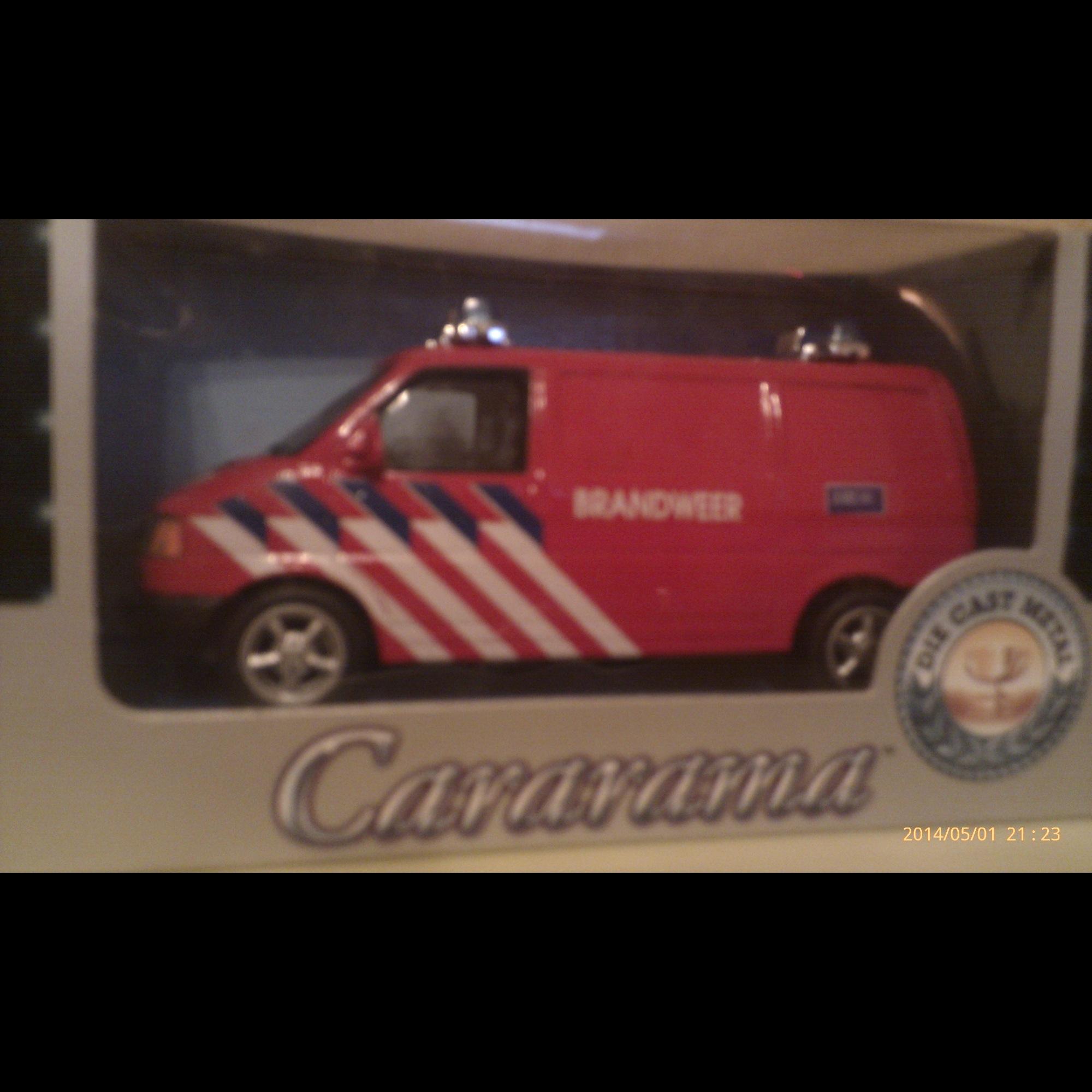 VW Transporter Brandweer