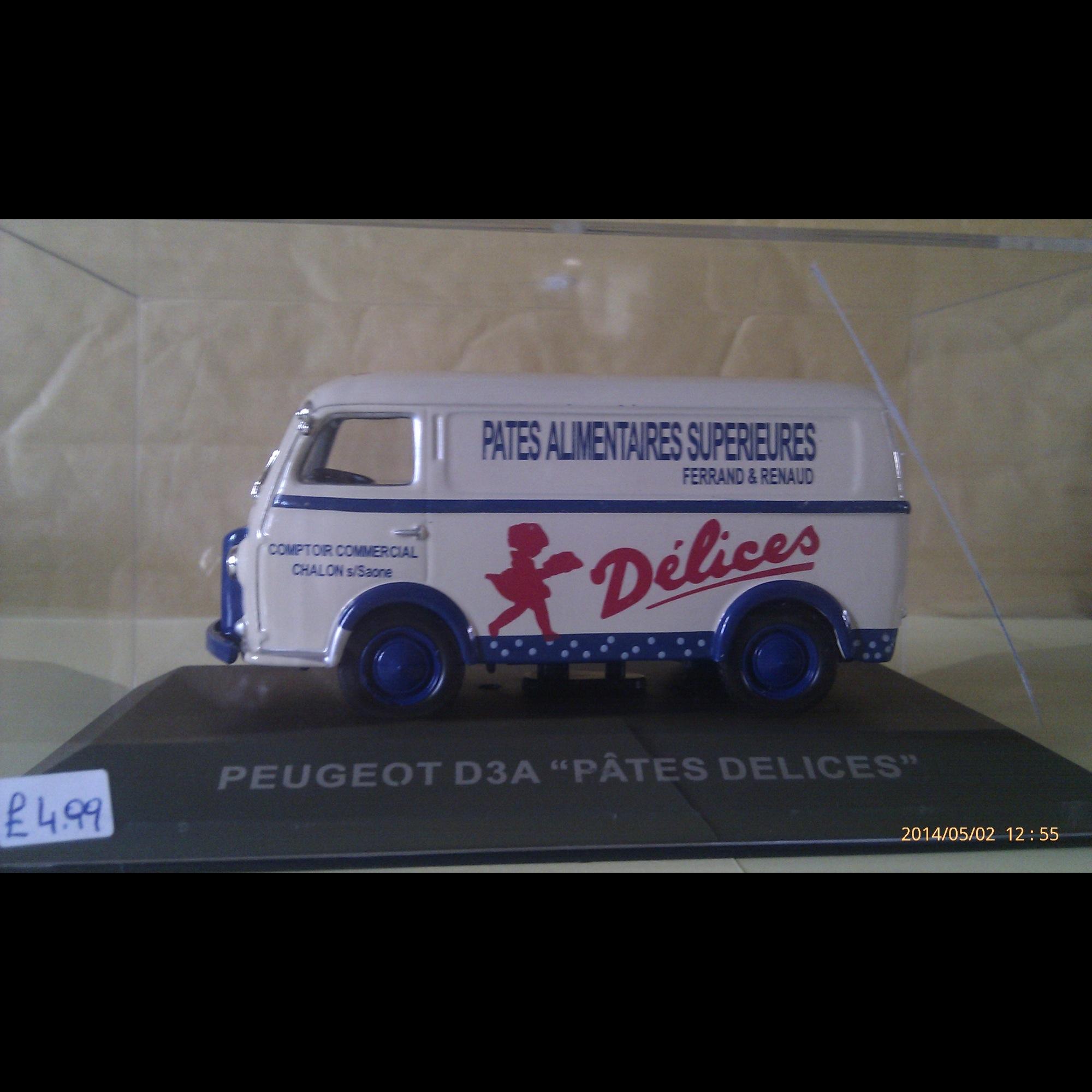 """Peugeot D3A """"Pates Delices"""""""