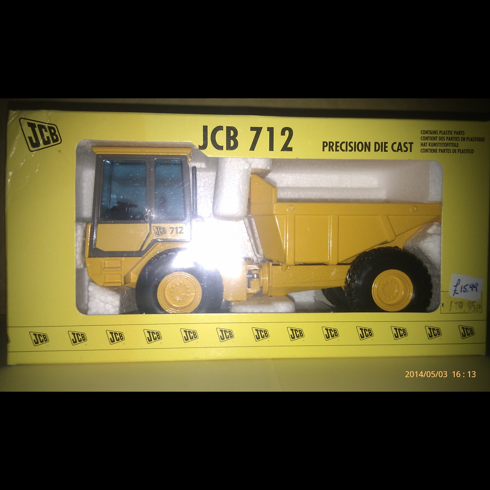 JCB 712 Articulated Dump Truck