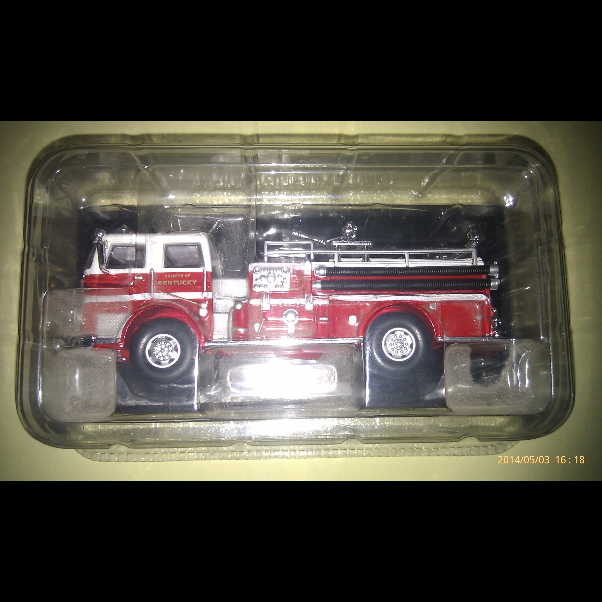 1:64 Scale - Seagrave K-Type Pumper
