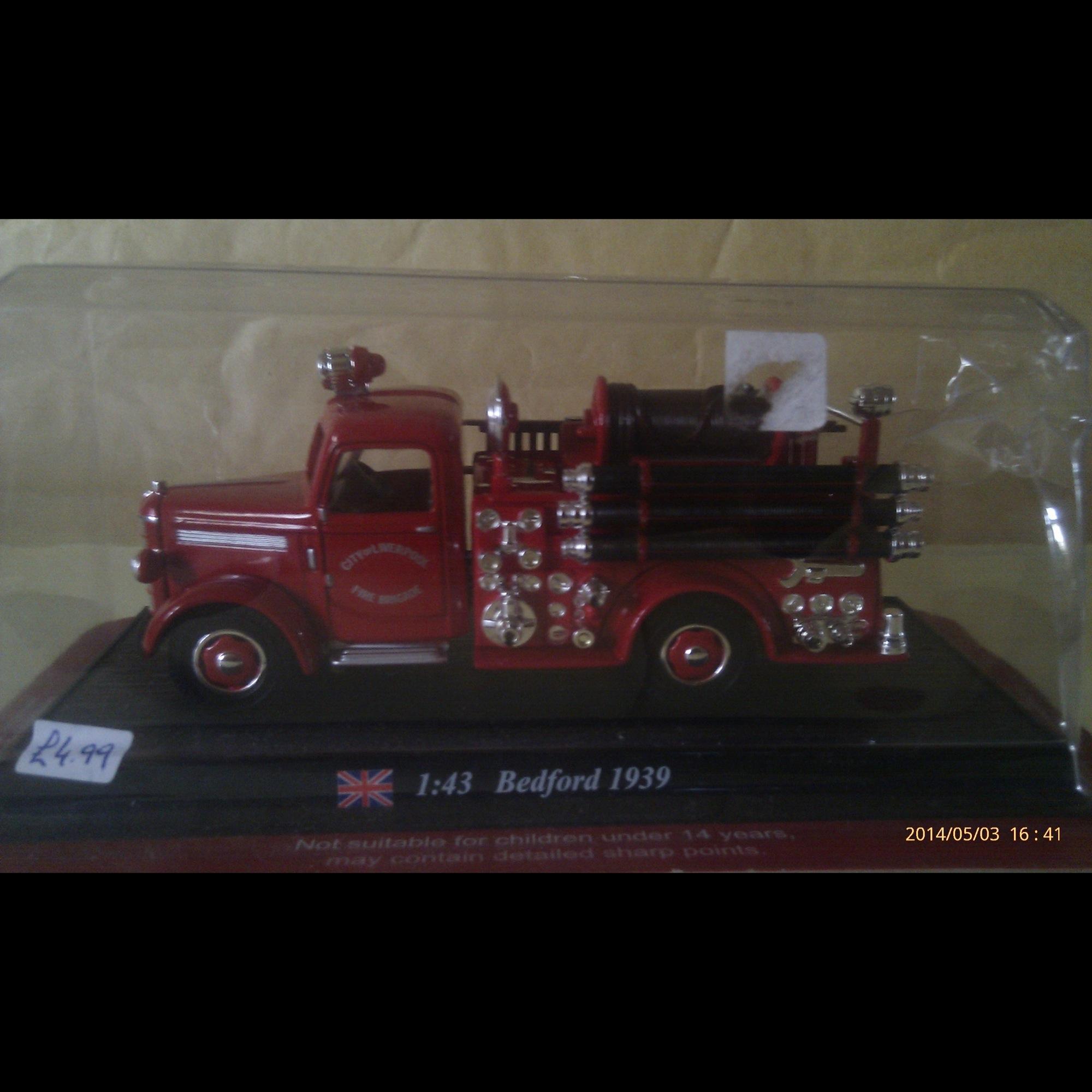 Bedford Fire Truck 1939