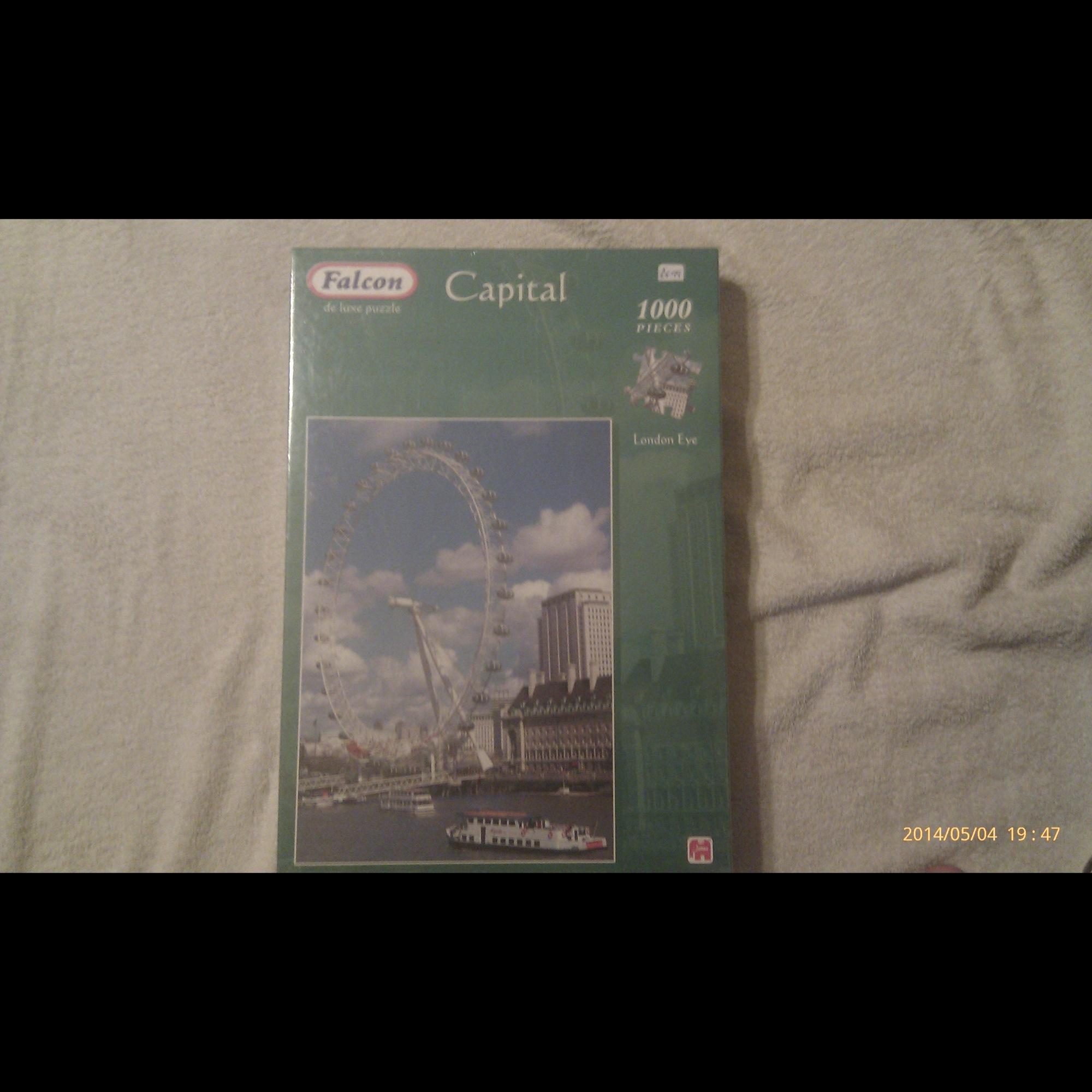 London Eye 1000 Pieces Puzzle
