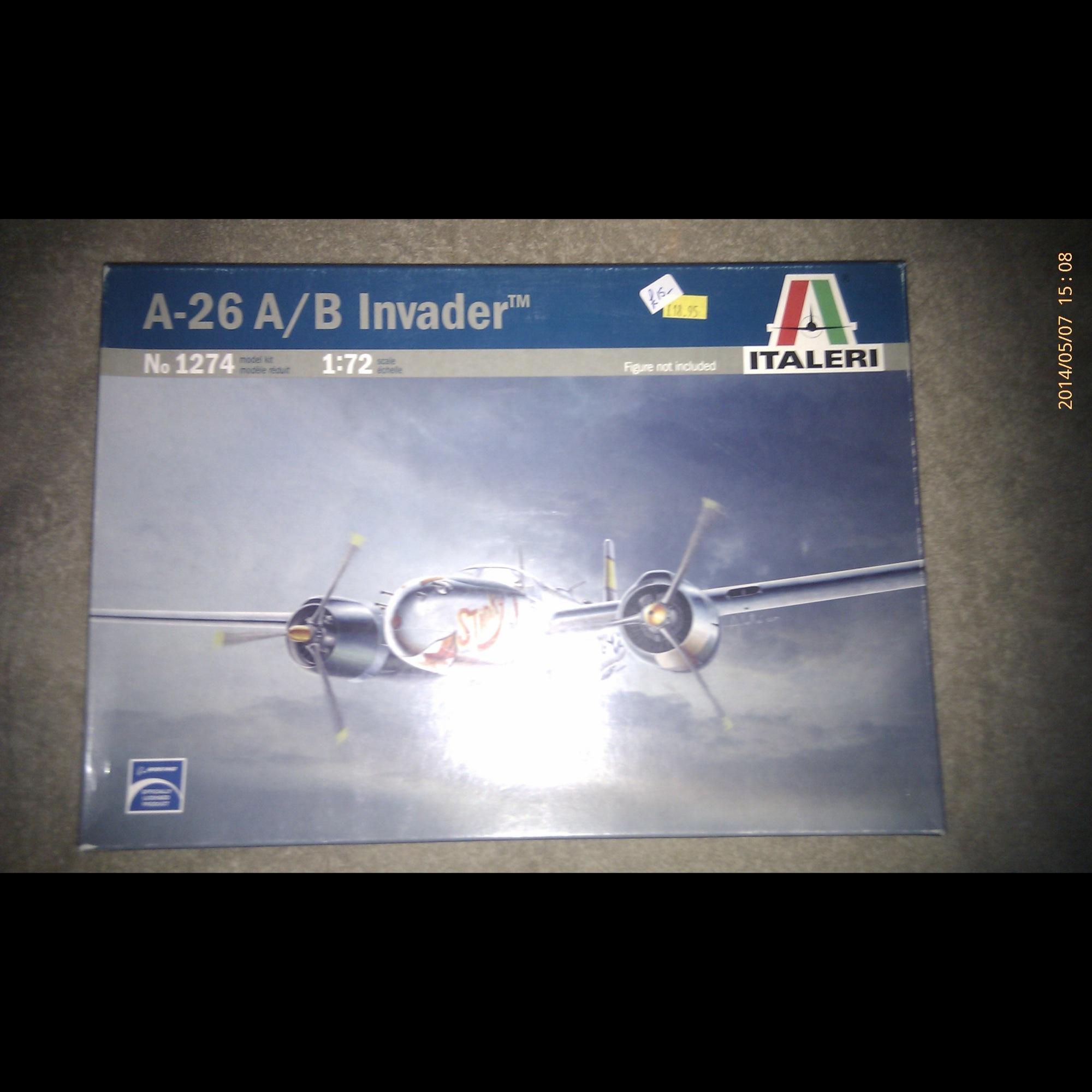 A-26 A/B Invader