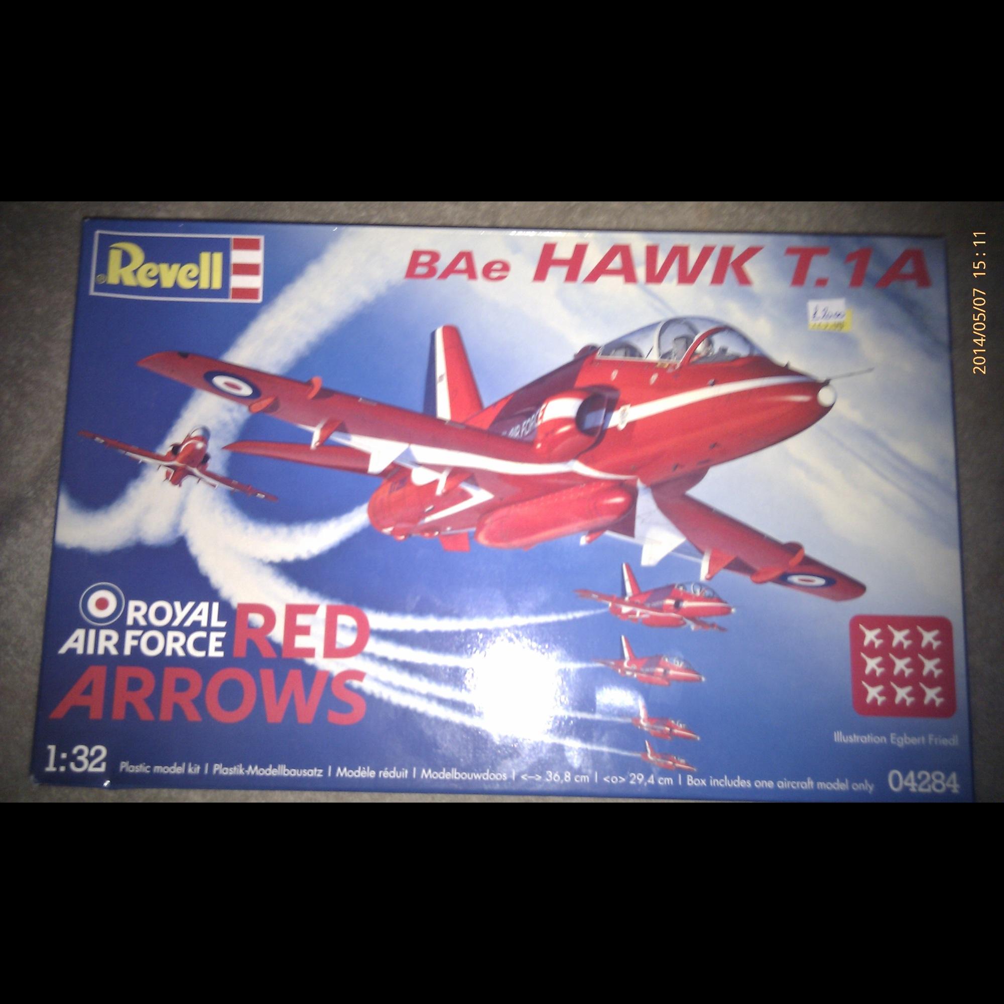 BAe Hawk T.1A Red Arrows