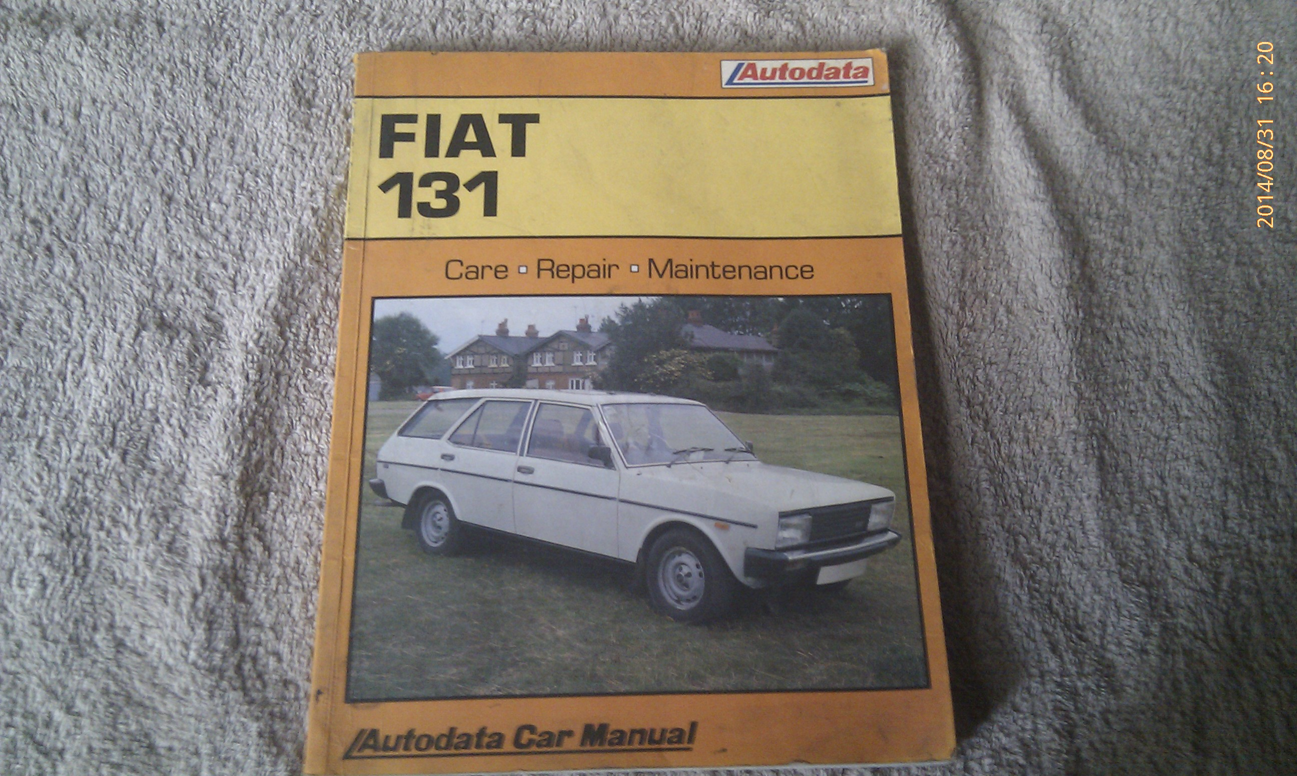 Fiat 131 1975/85 Workshop Manual - Curios and Wonders