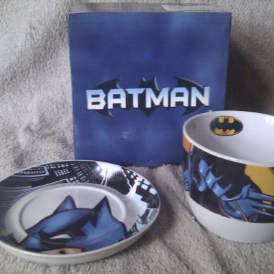 Batman Good Morning Set
