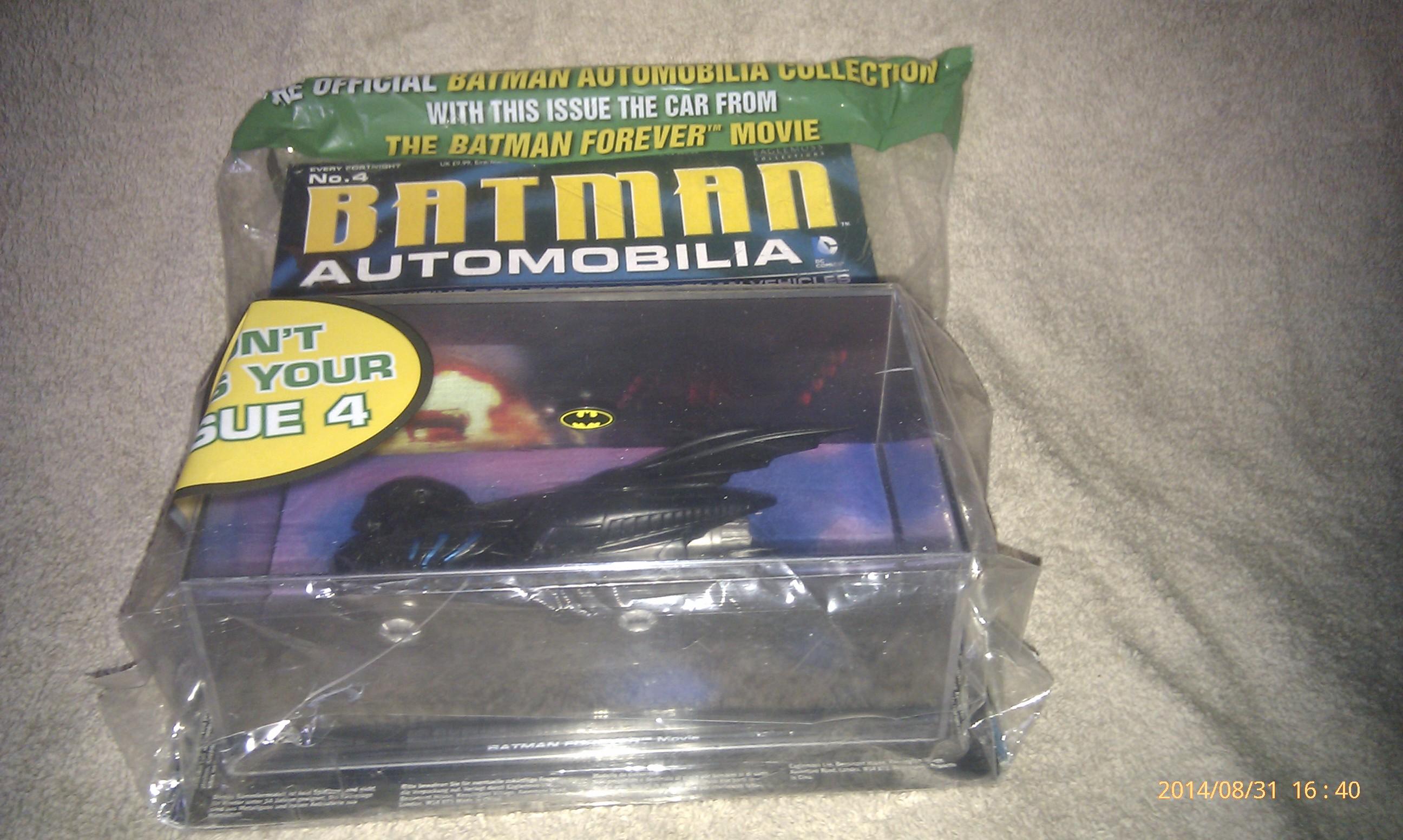 Batman Automobilia 4 - Batman Forever Movie