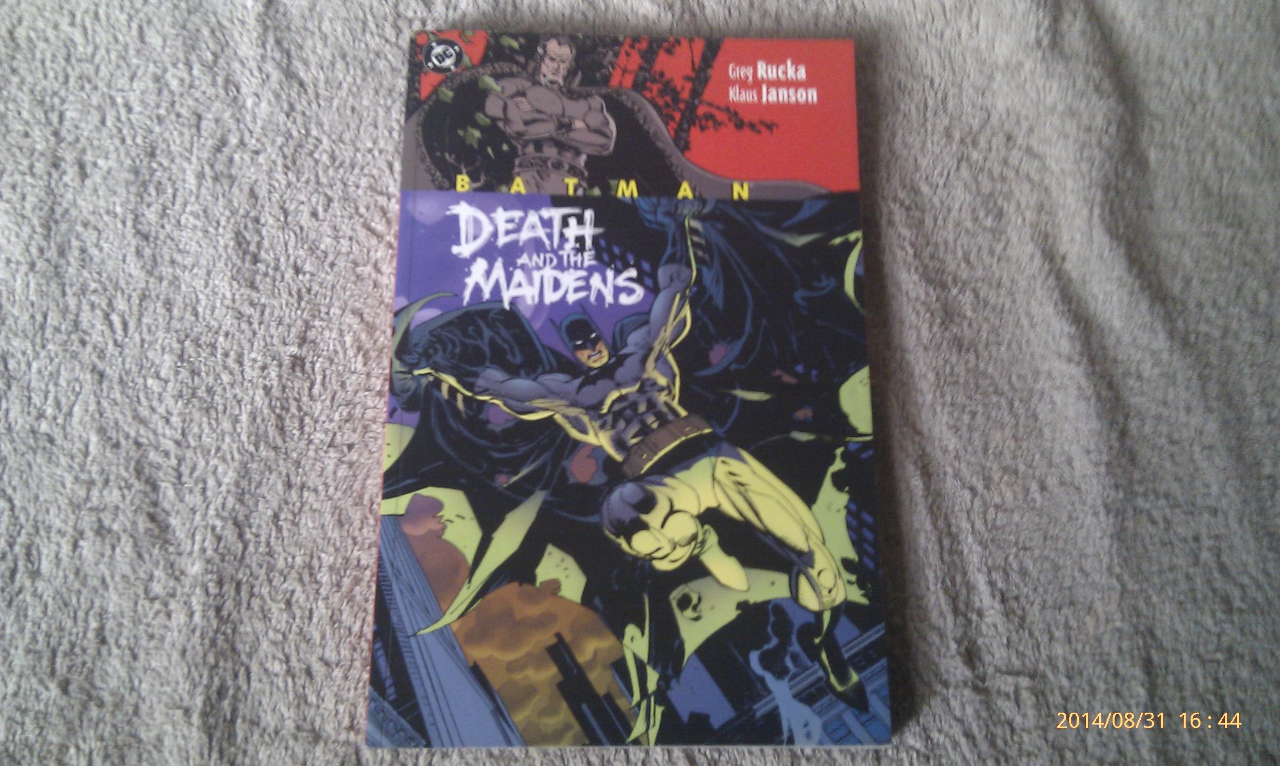 Batman - Death And The Maidens - Greg Rucka -Klaus Janson