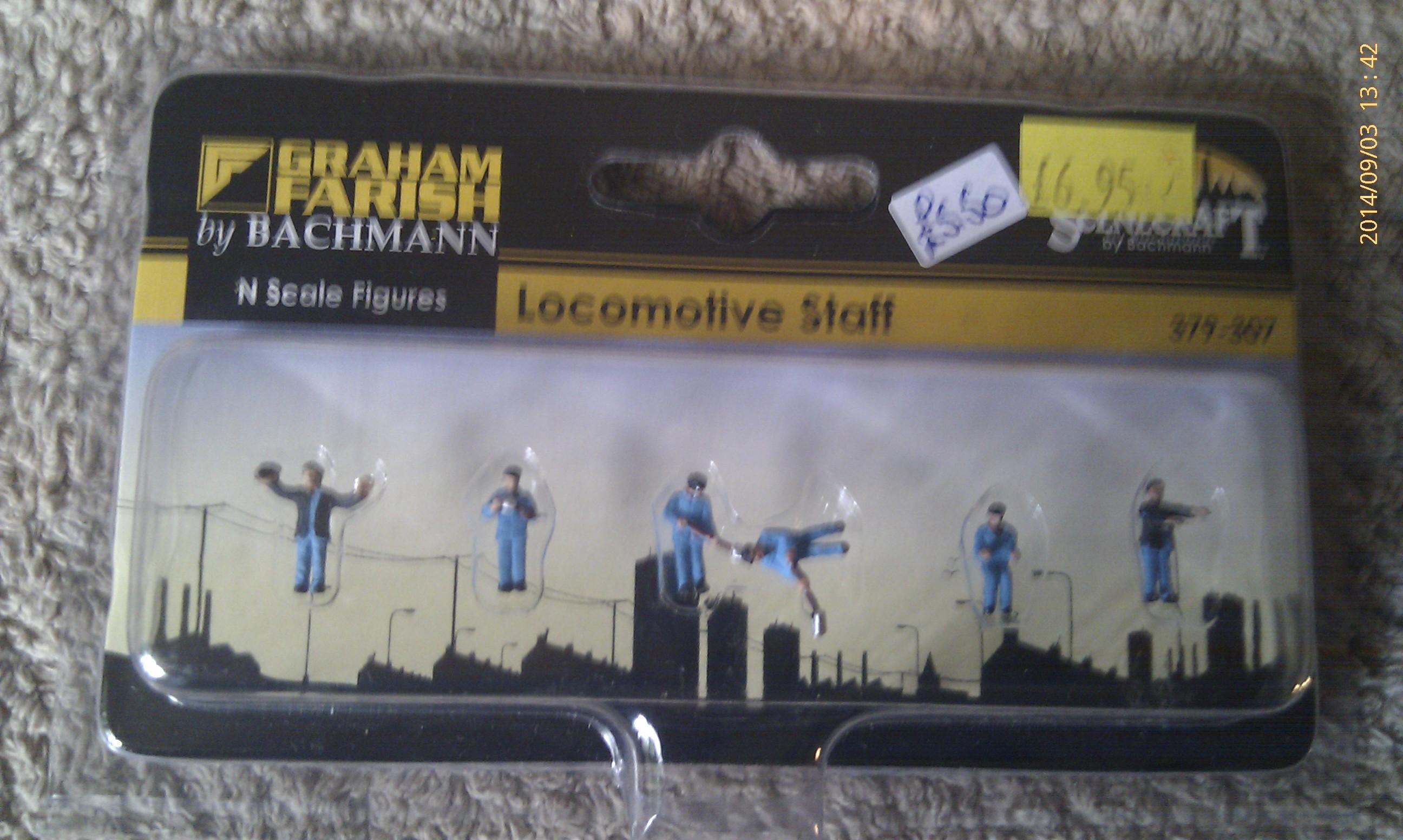 Locomotive Staff 379-307