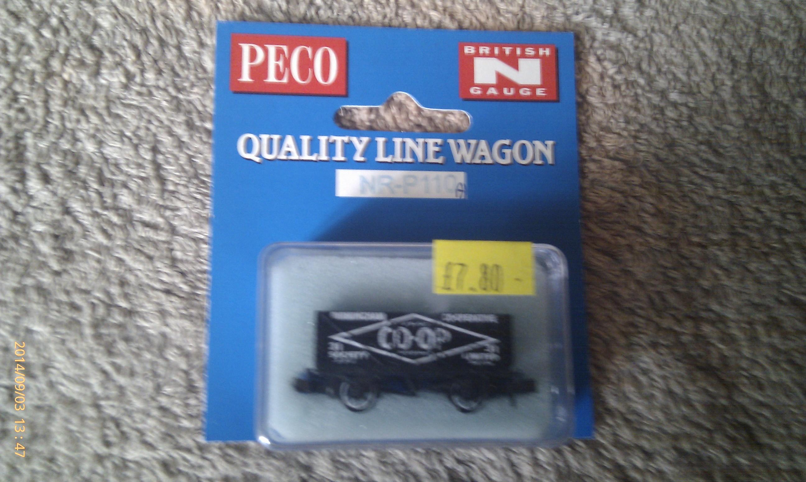 Peco Quality Line Wagon NR-P110A CO-OP