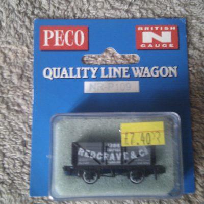 Peco Quality Line Wagon NR-P109 Redgrave & Co