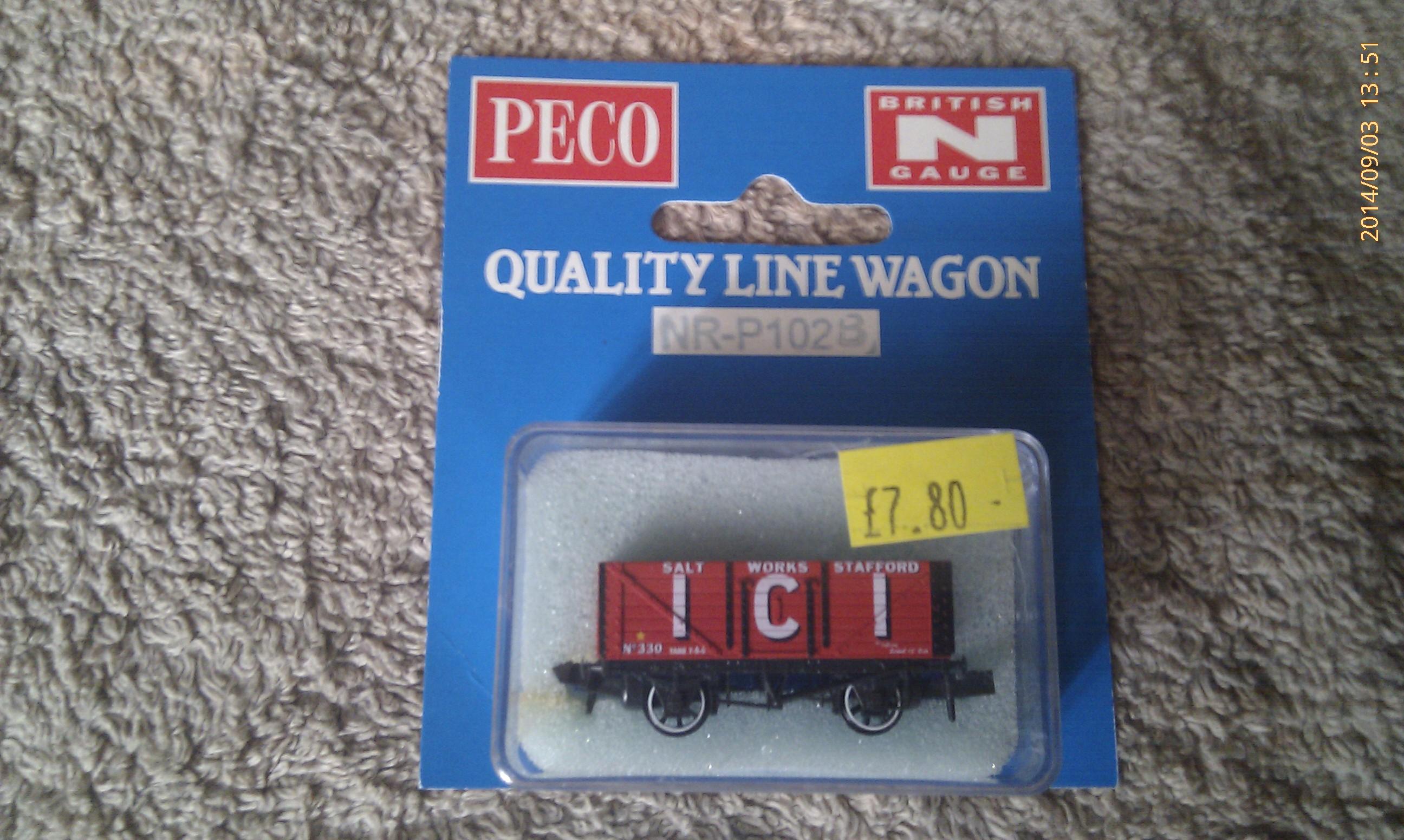 Peco Quality Line Wagon NR-P102B ICI