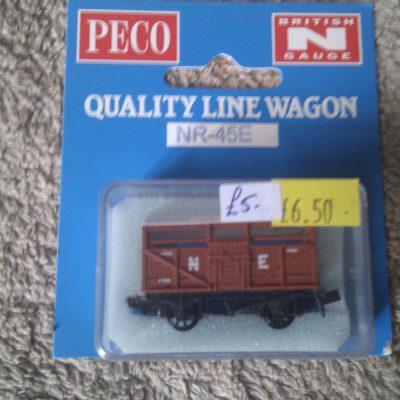 Peco Quality Line Wagon NR-45E N E