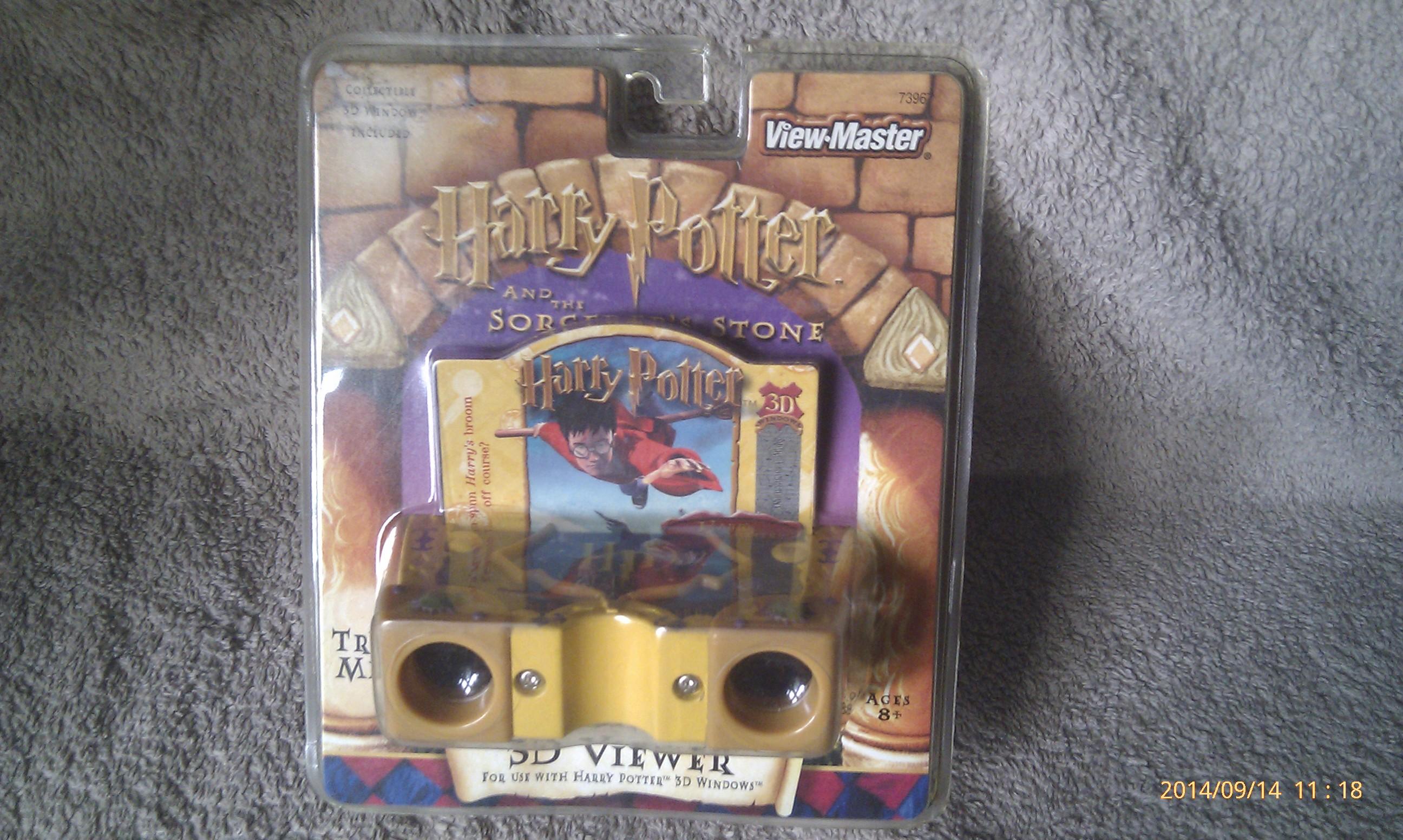 Harry Potter Sorcerer's Stone 3D Viewer