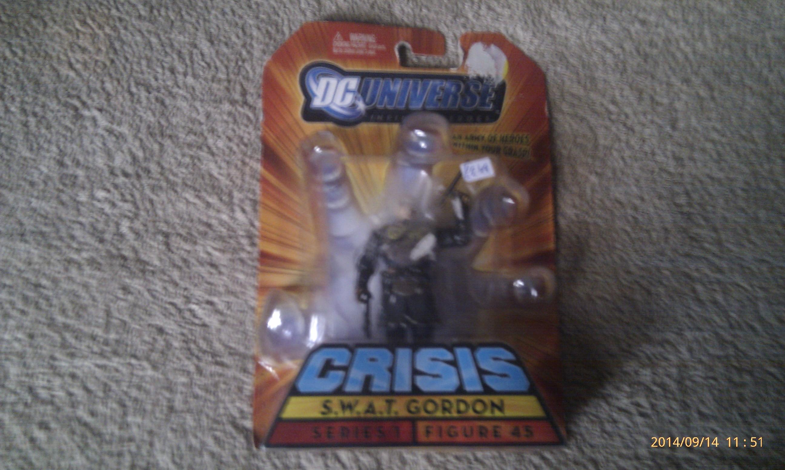 DC Universe Crisis SWAT Gordon Series 1 Figure 45