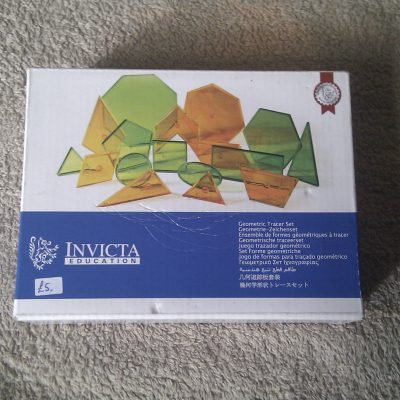 Invicta Education - Geometric Tracer Set