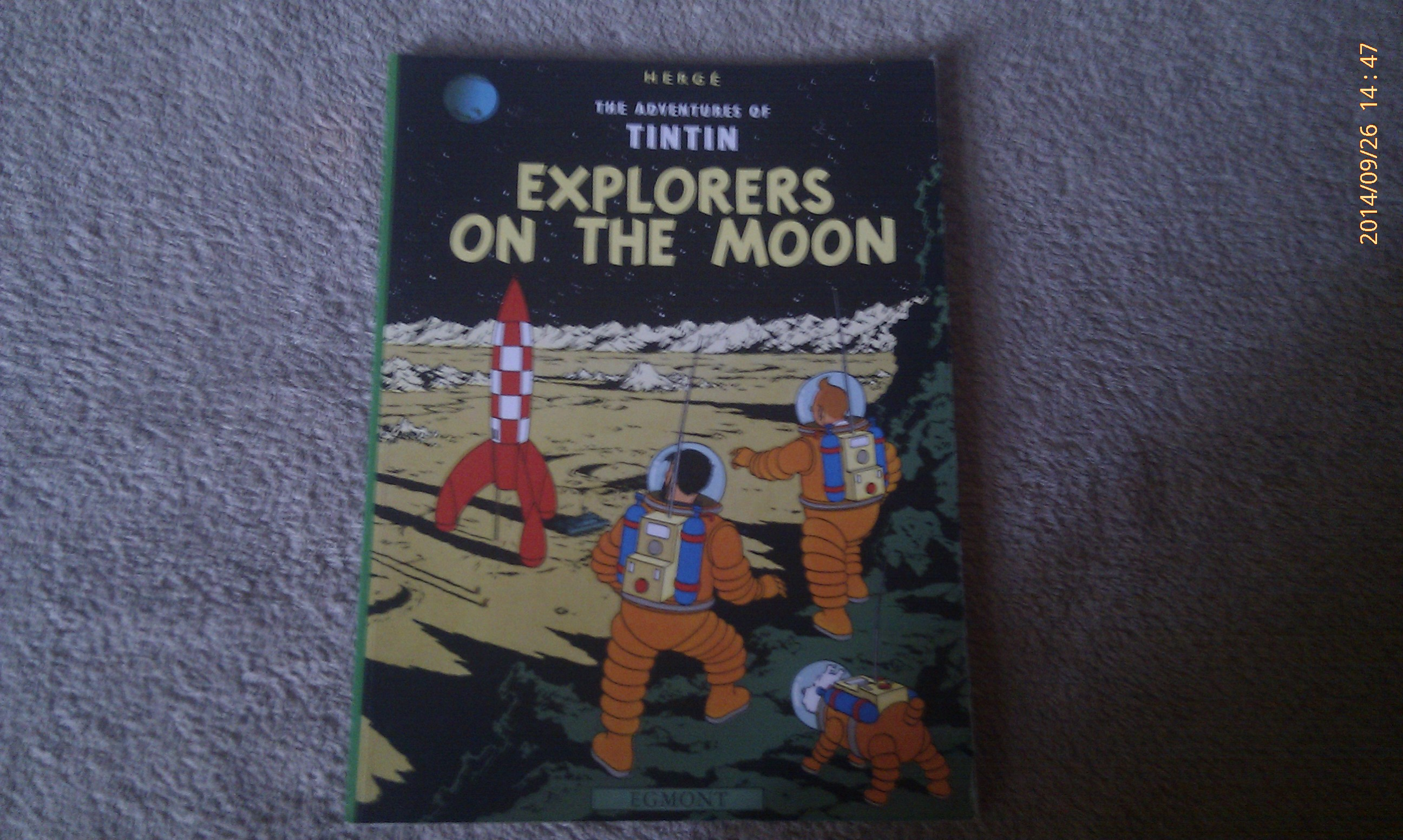 Tintin - Explorers On The Moon - Herge