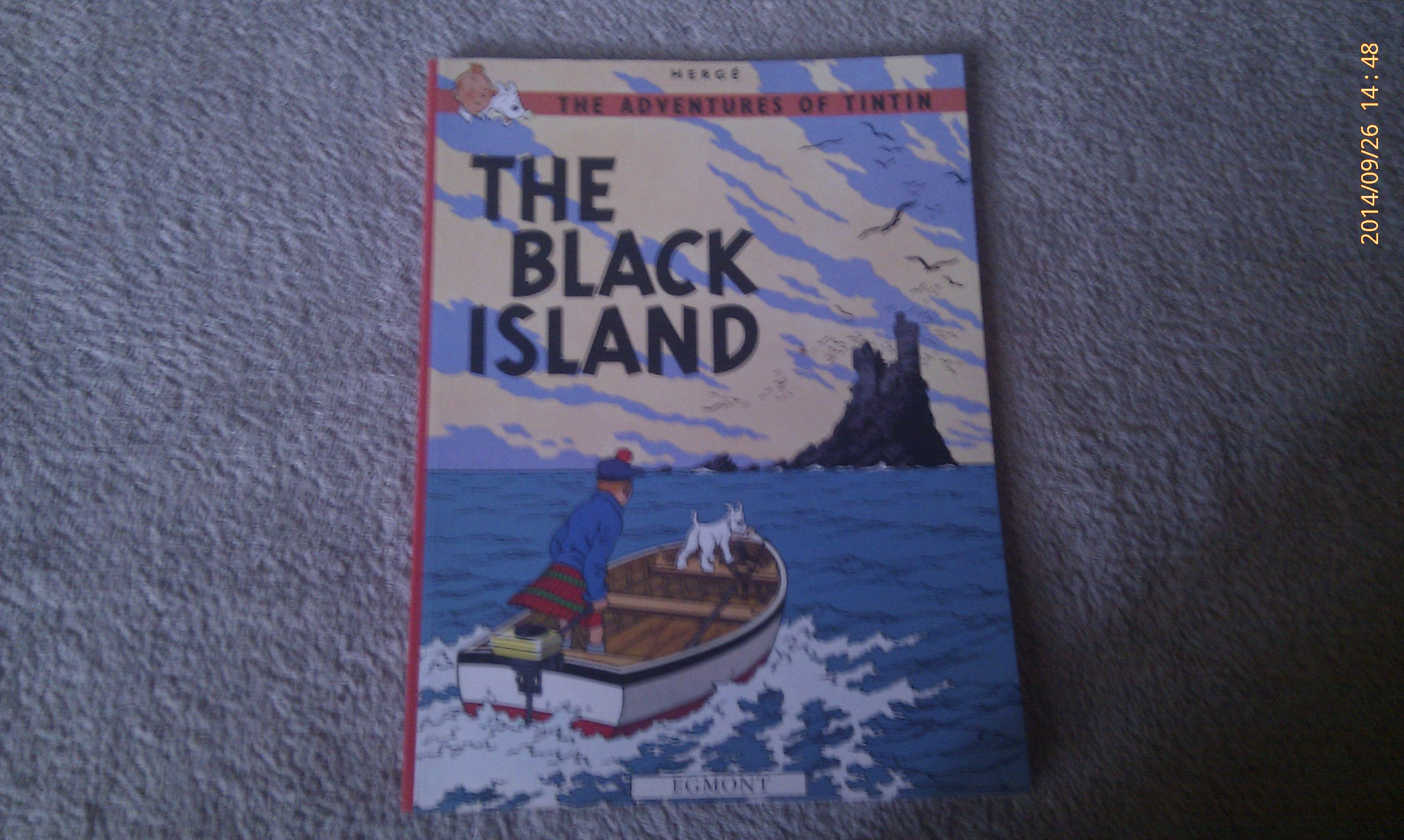 Tintin - The Black Island - Herge