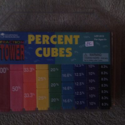 Fraction Tower - Percent Cubes