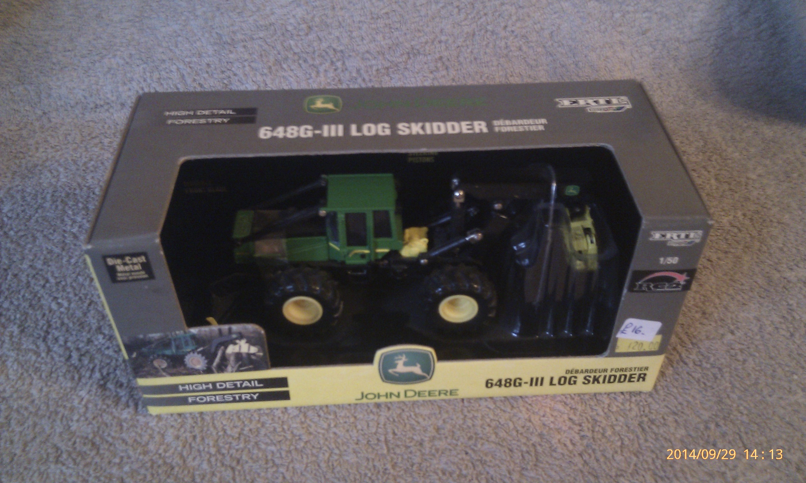 John Deere 648G-III Log Skidder - ERTL