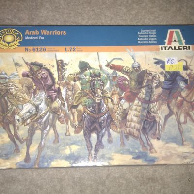 Arab Warriors Medieval Era 1:72