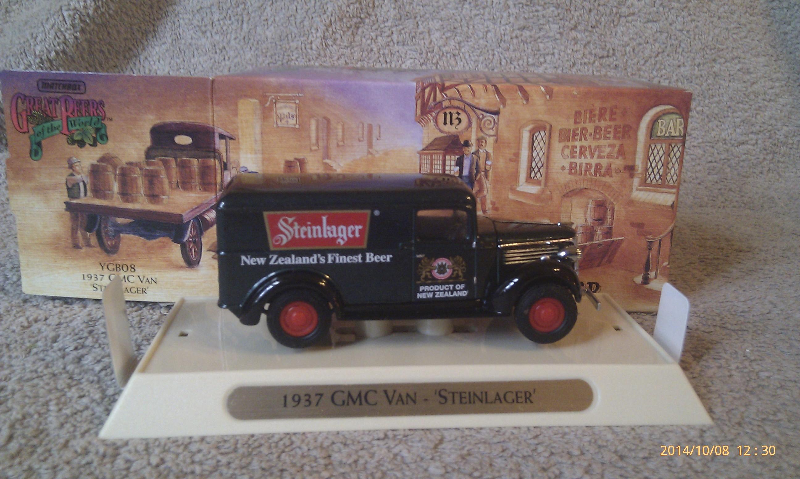 """1937 GMC Van """"Steinlager"""""""