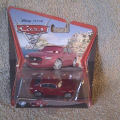 Cars 2 - Carlo Maserati 25