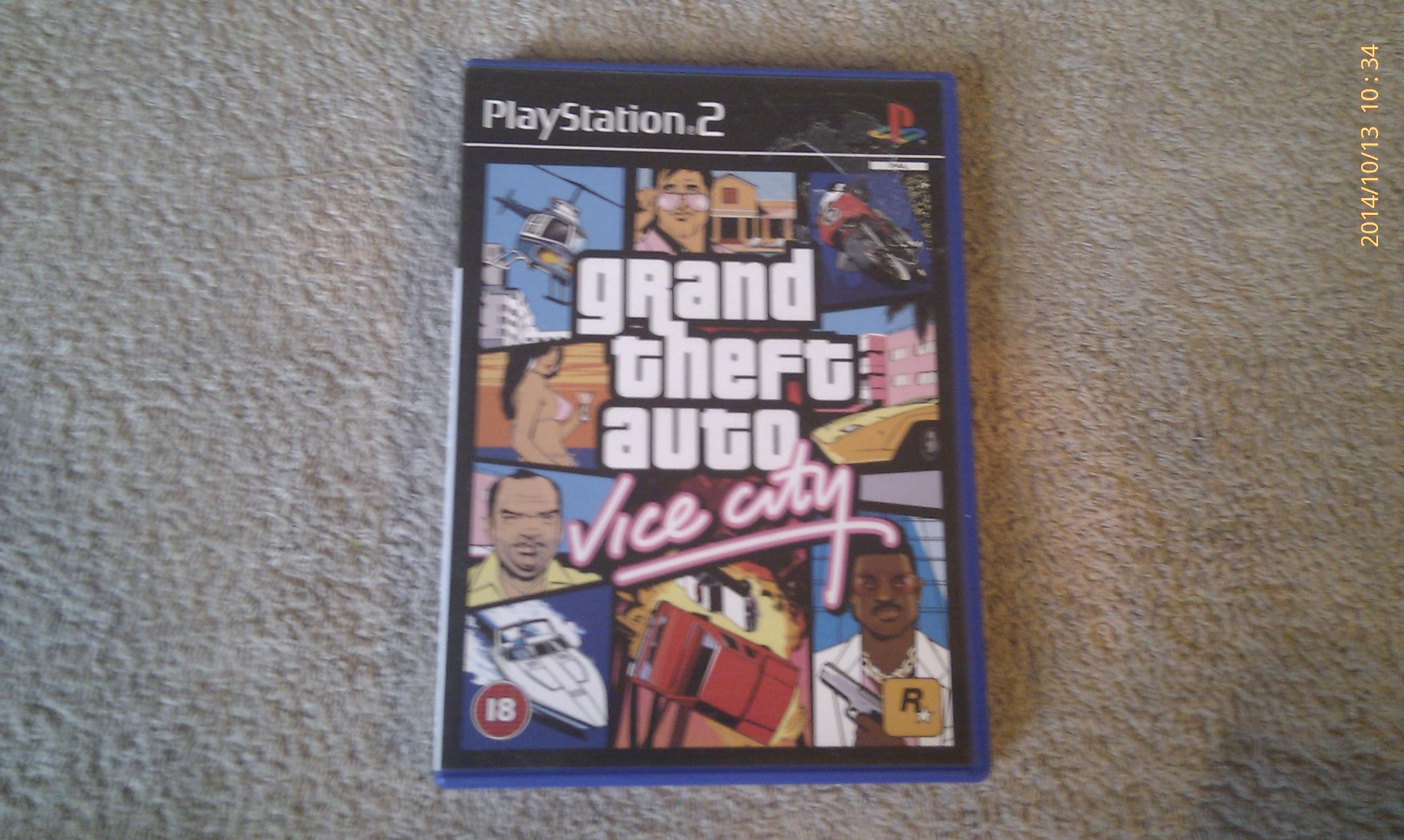 Grand Theft Auto GTA Vice City