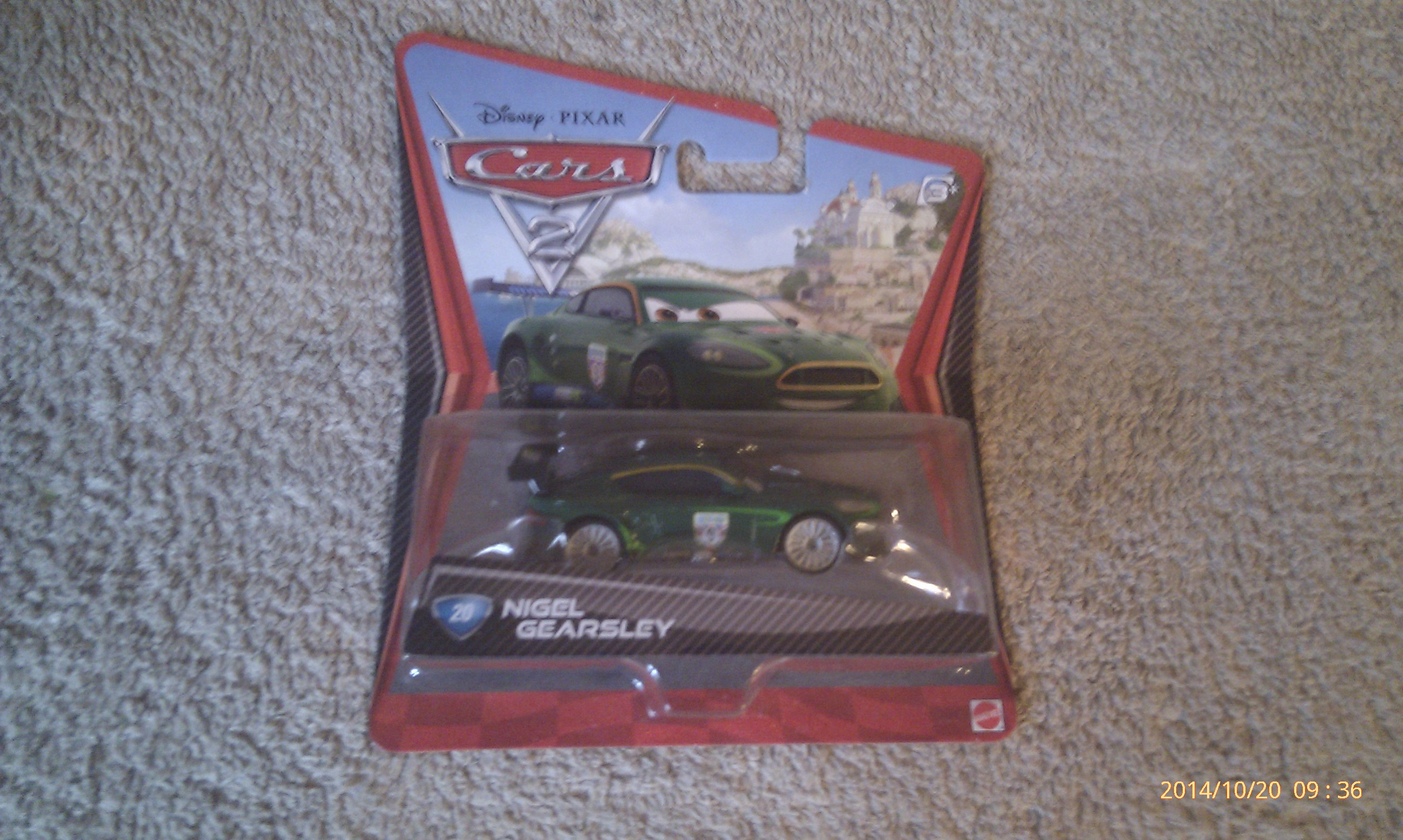 Cars 2 - Nigel Gearsley 20