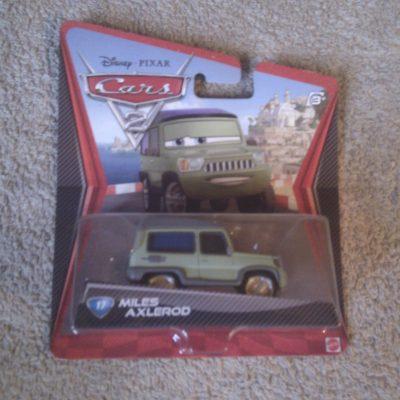 Cars 2 - Miles Axlerod 17