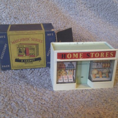 Matchbox AP-5 Double Fronted Store