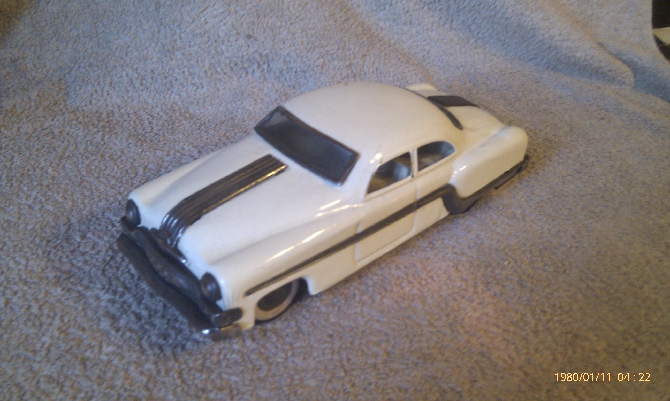 1953 Pontiac Chevrolet Tin Toy Car Chartoy Delhi