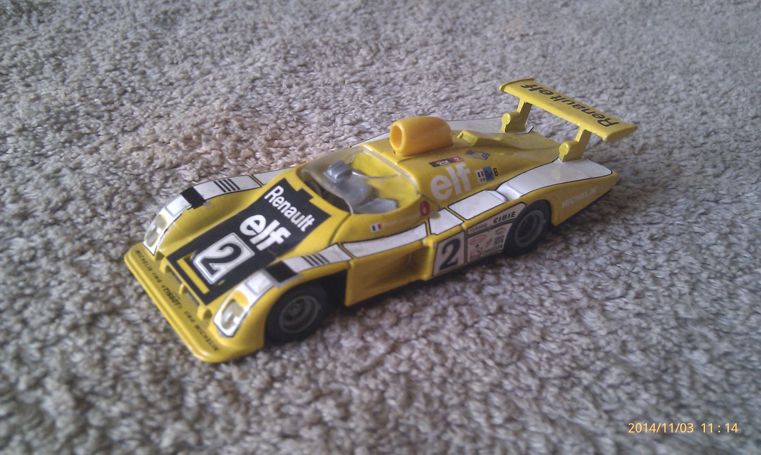 Alpine Renault A442B Turbo V6 2L