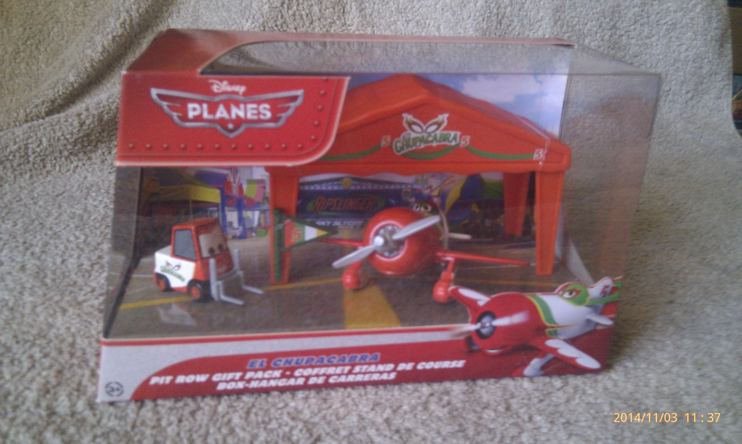 Disney Planes - El Chupacabra - Pit Row Gift Pack