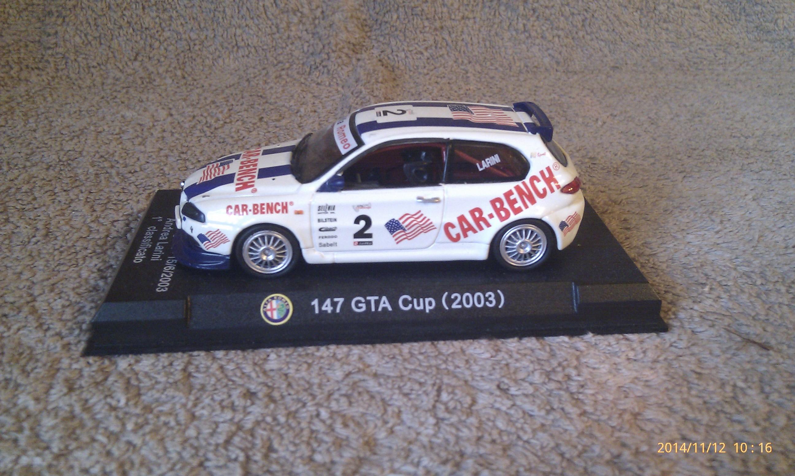 Alfa Romeo 147 GTA Cup 2003