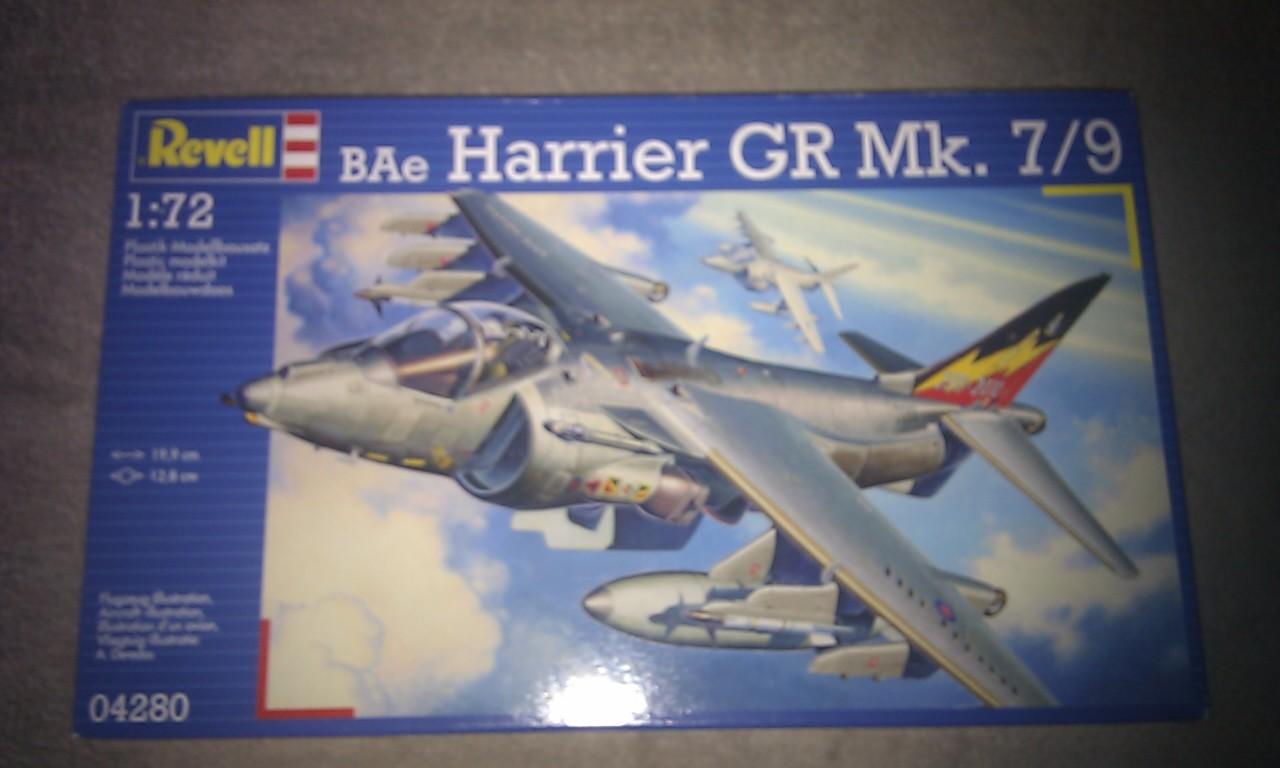 BAe Harrier GR Mk 7/9