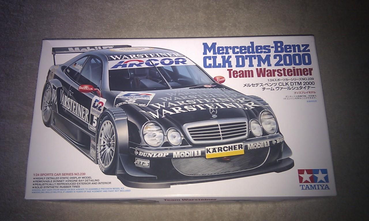 Mercedes Benz CLK DTM 2000 Warsteiner