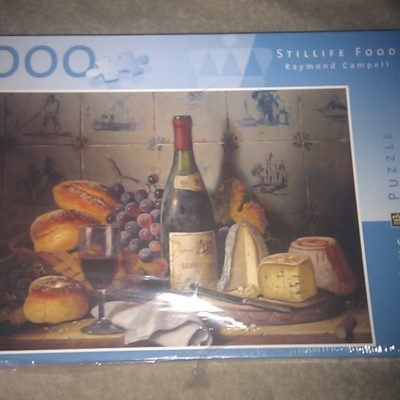 Stillife Food - Raymond Campell 1000 Pieces Puzzle