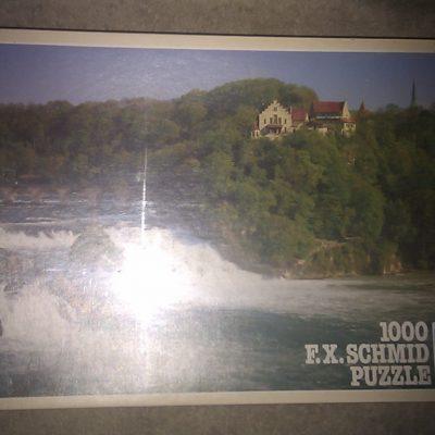 Rhine Falls at Schaffhausen 1000 Piece Puzzle