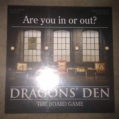 Dragon's Den The Board Game