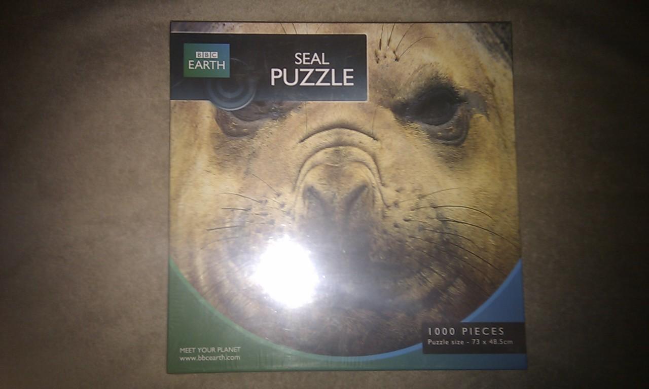 BBC Earth - Seal 1000 Piece Puzzle