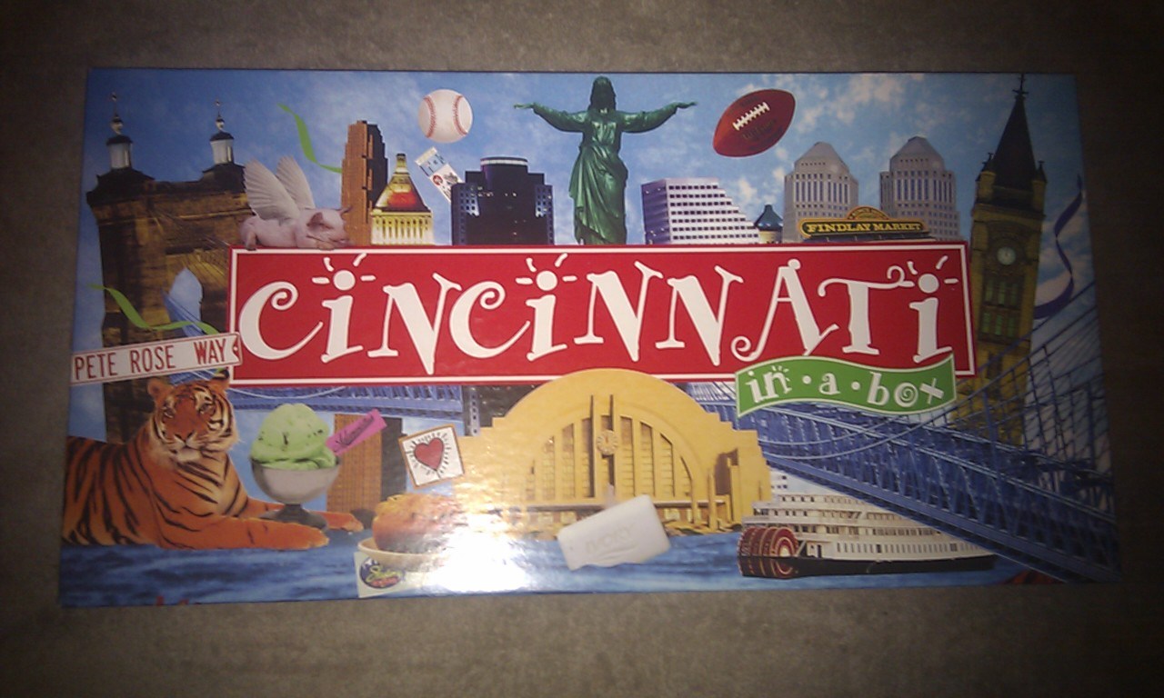"Cincinnati In A Box ""Monopoly"""