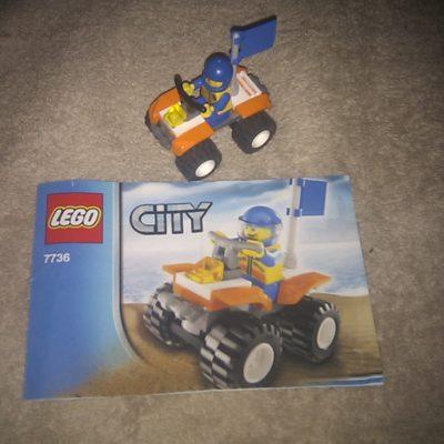 Lego City 7736 Quad Bike