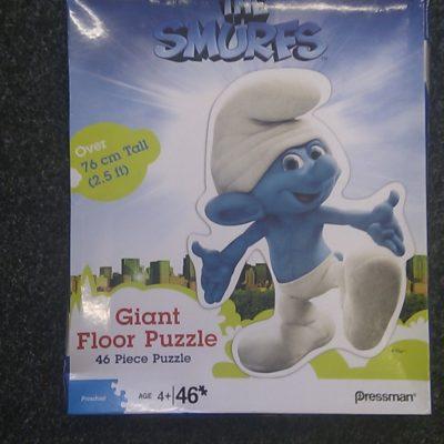 The Smurfs Giant Floor Puzzle