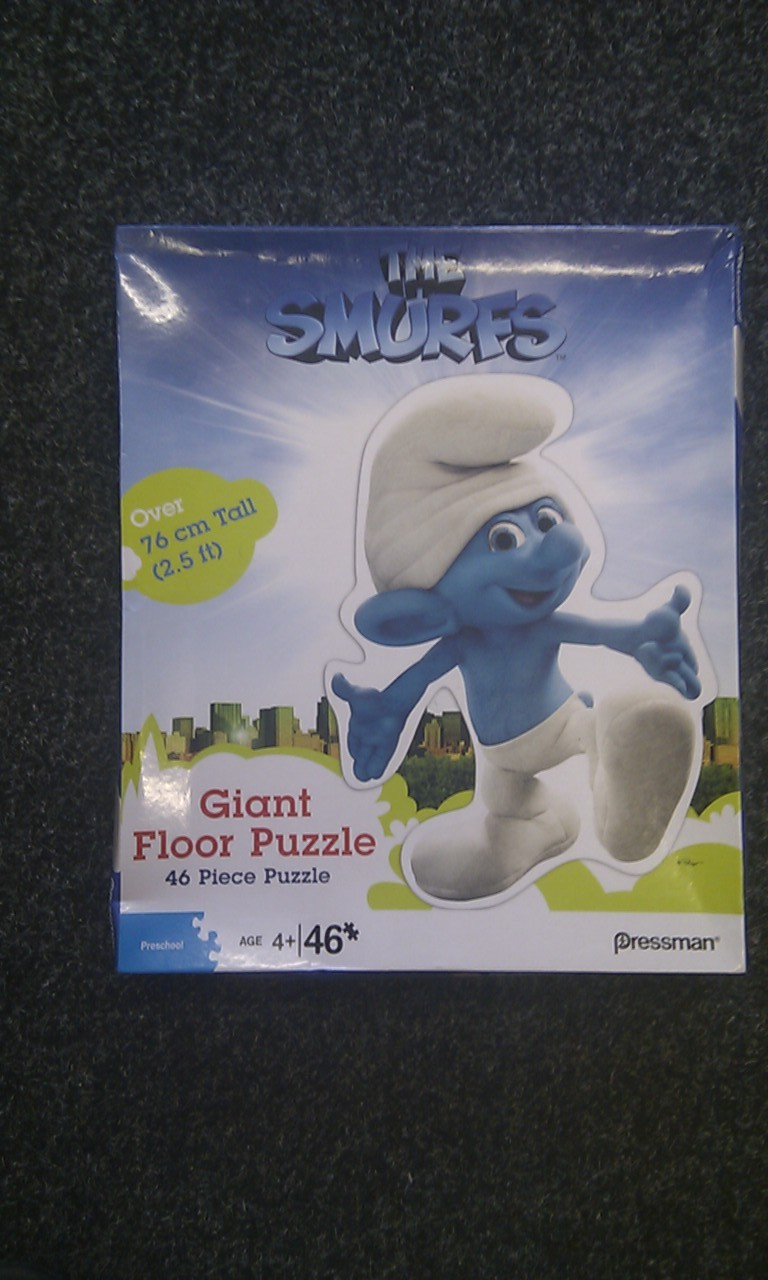 The Smurfs Giant Floor Puzzle