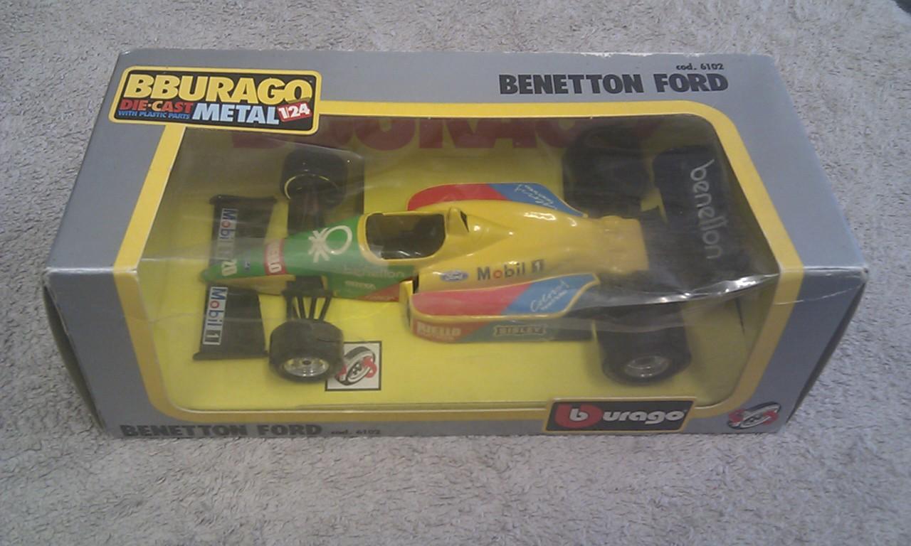 Burago 6102 Benetton Ford 1/24th