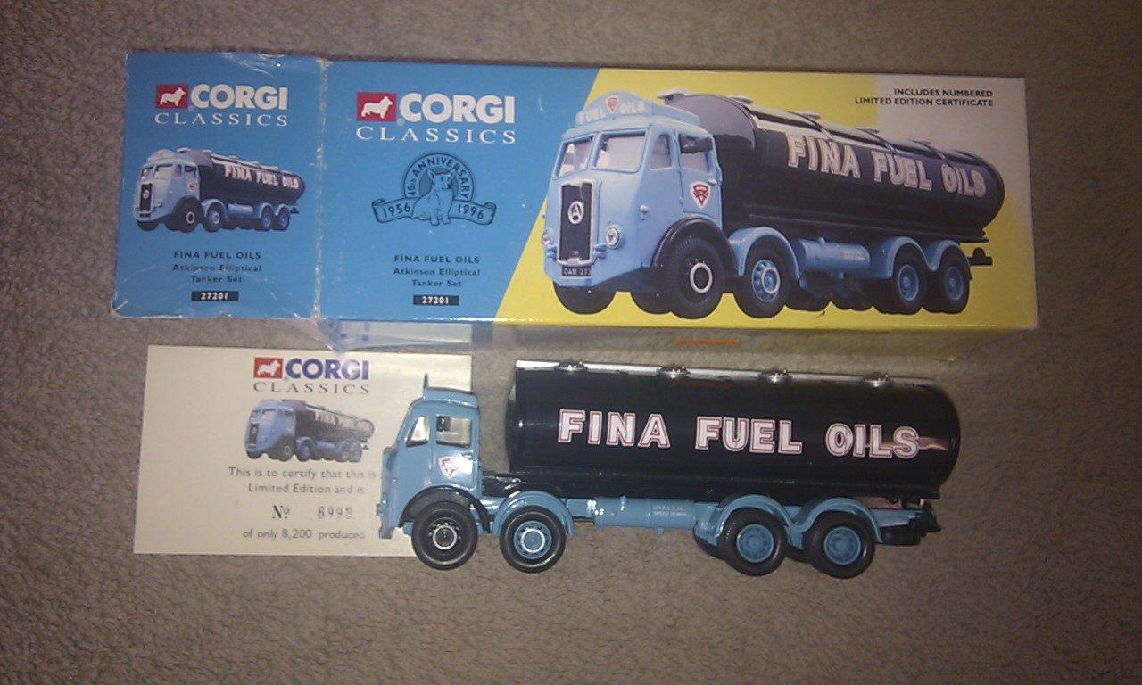 Corgi 27201 Fina Fuel Oils